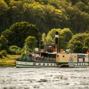 Steamboat on the Elbe