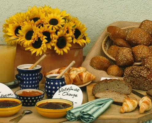 Brot und Brötchen Buffet